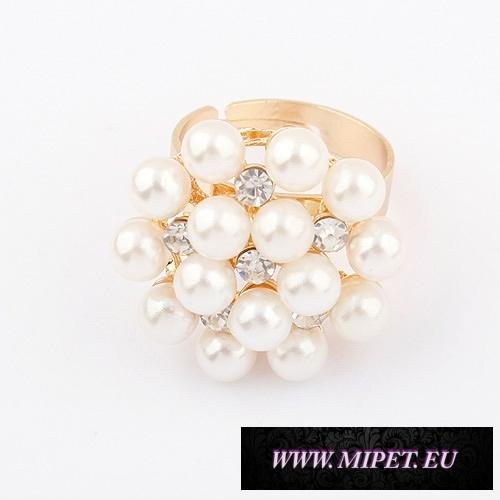 Prsteň PJ009 perličkový 6a6002f5642